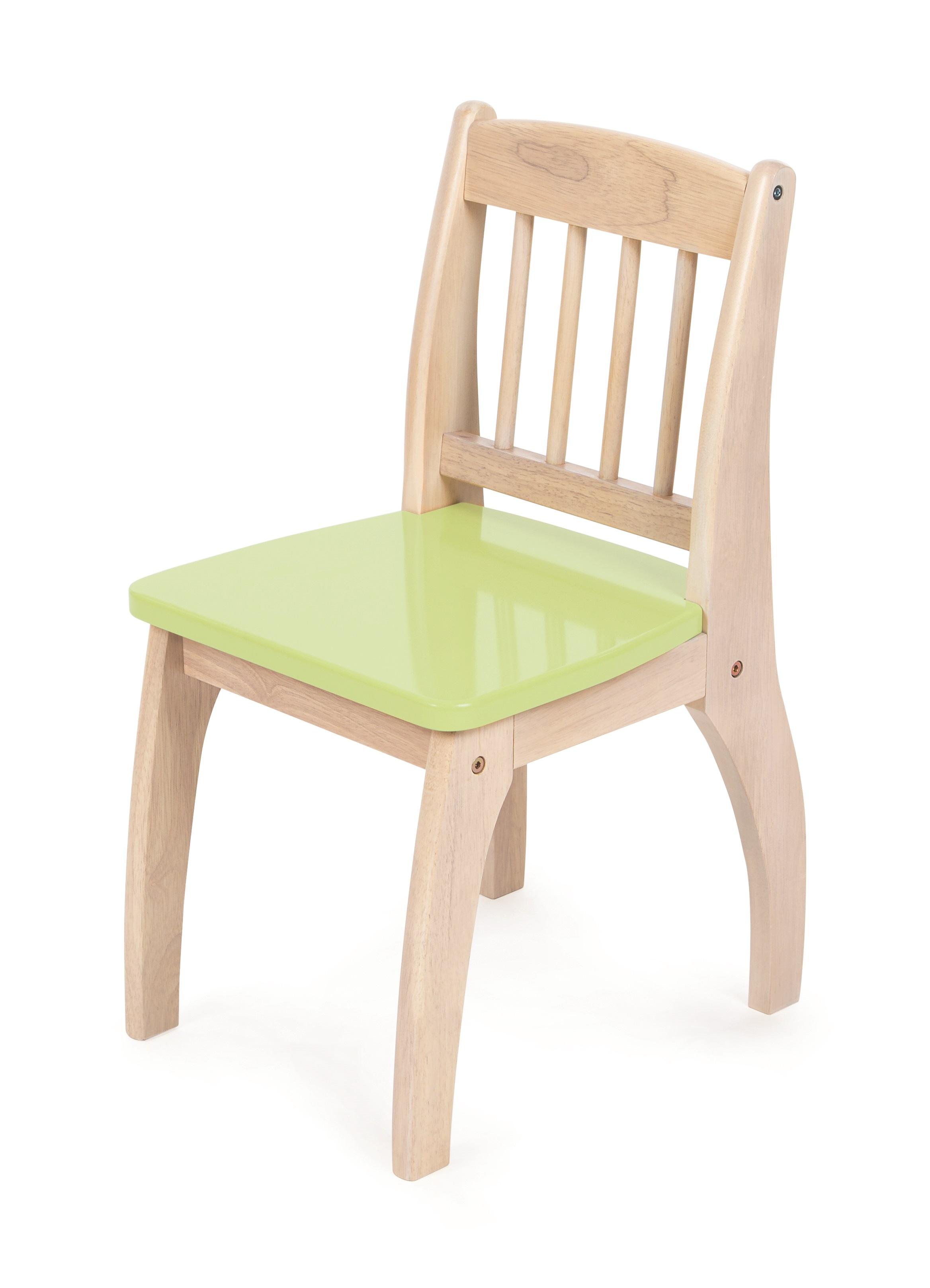 Tidlo Dřevěná židlička Junior zelená