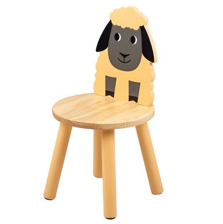 Tidlo Dřevěná židle ovečka