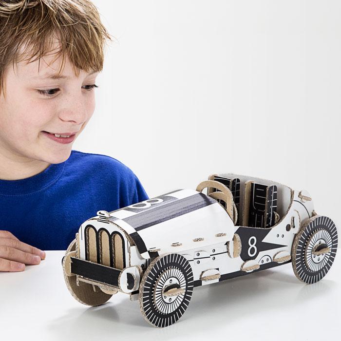 Kartonová 3D skládačka TO DO Auto