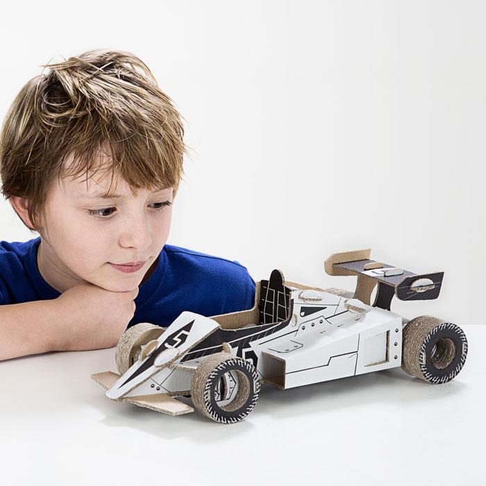 Kartonová 3D skládačka TO DO Formule
