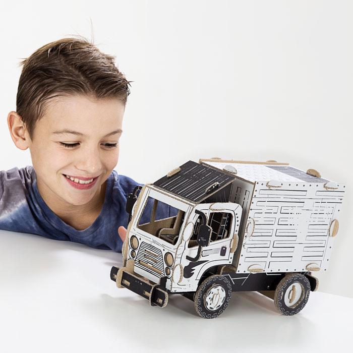 Kartonová 3D skládačka TO DO Nákladní auto
