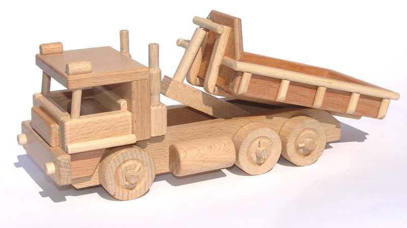 Ceeda Cavity - dřevěné auto - Nákladní auto s kontejnerem
