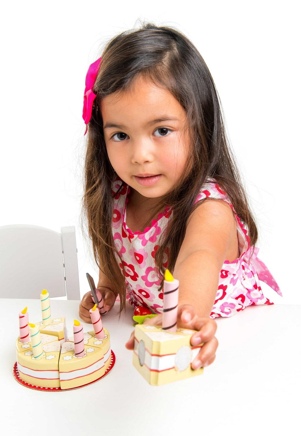 Le Toy Van Narozeninový dort Vanila