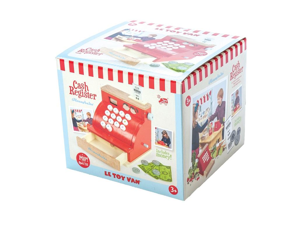 Le Toy Van Pokladna červená