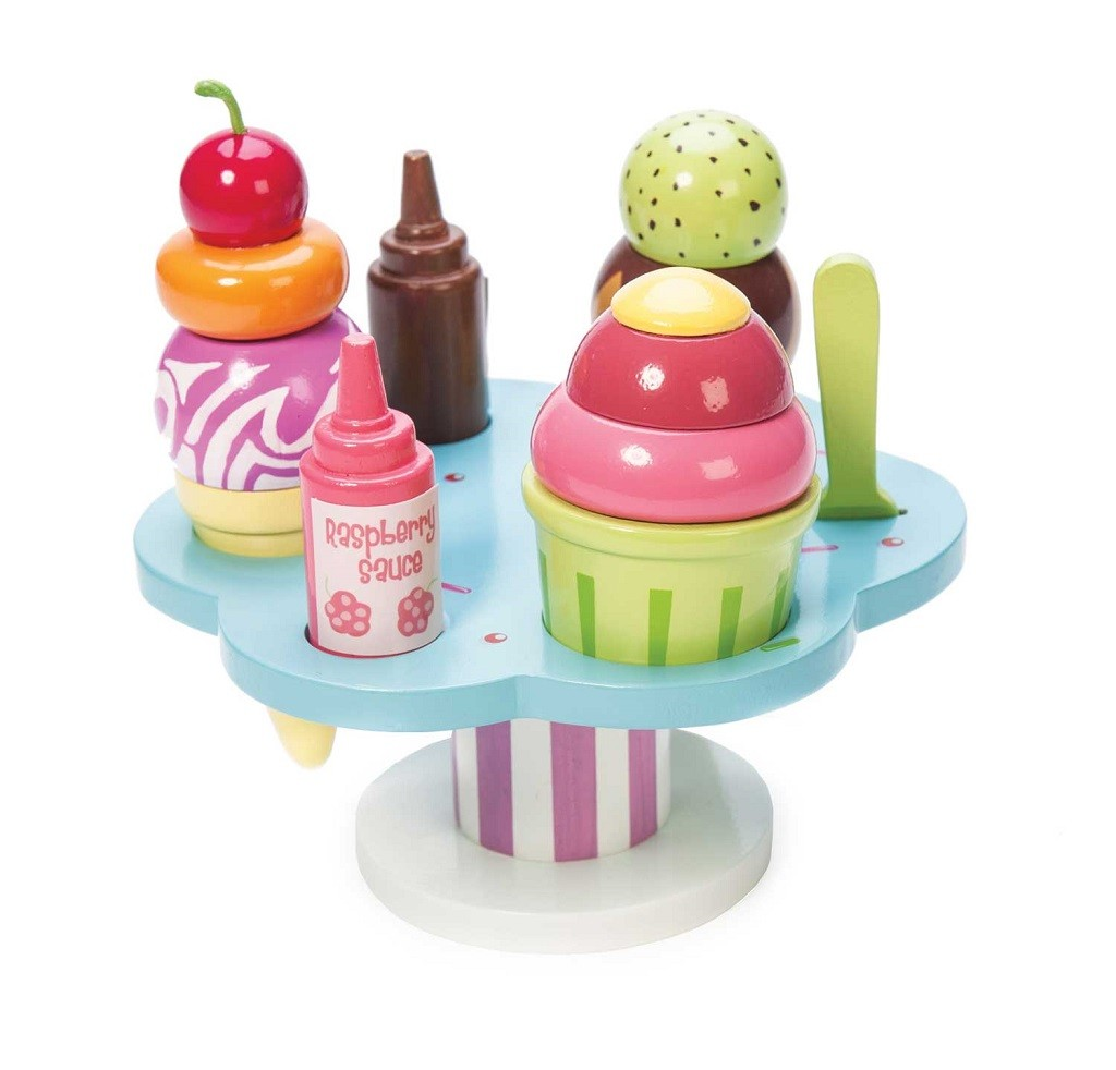 Le Toy Van Set se zmrzlinou Carlos