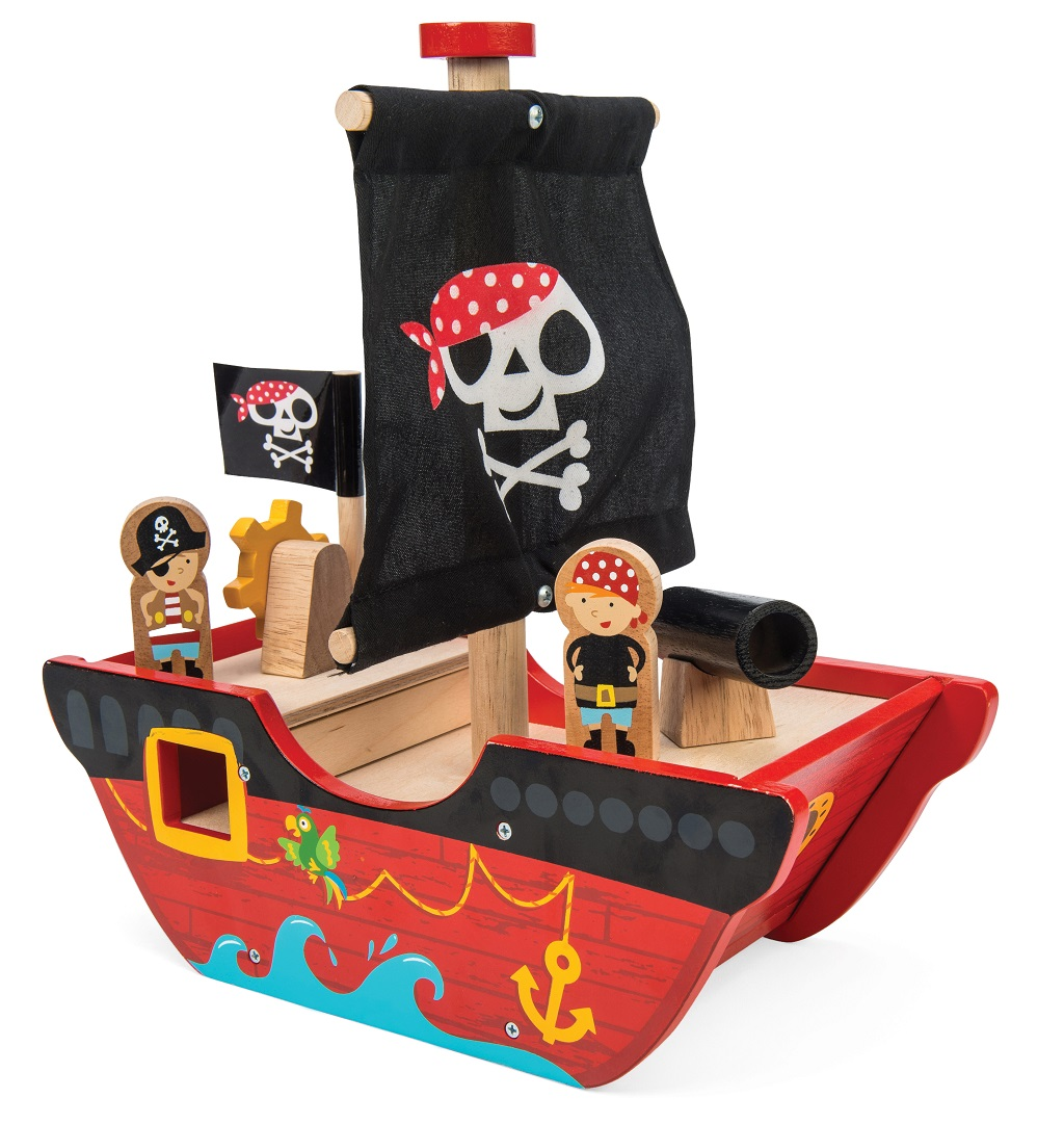 Le Toy Van Pirátská loď Little Capitan