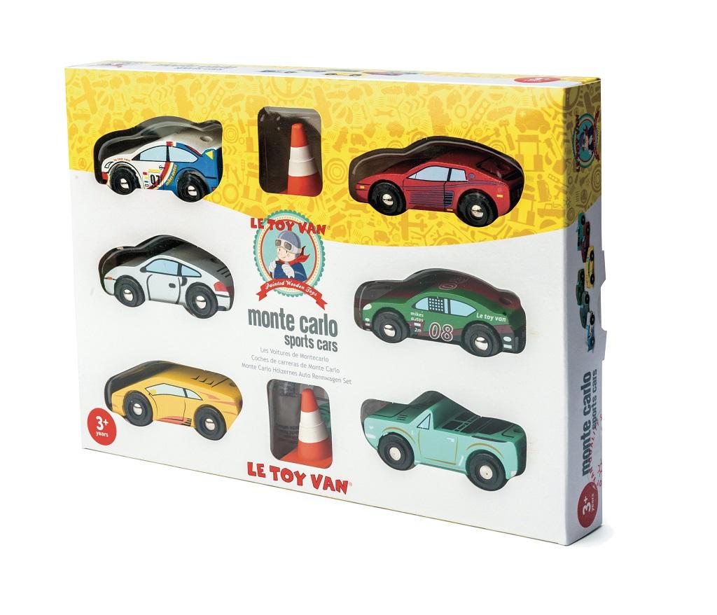 Le Toy Van Set autíček Montecarlo Sports