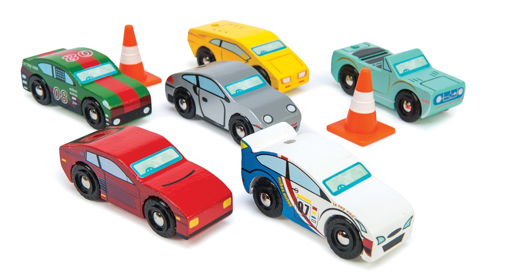 Le Toy Van Set autíček Montecarlo Sports