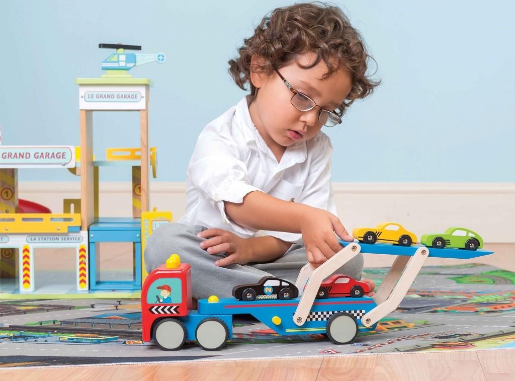 Le Toy Van Tahač s autíčky Race
