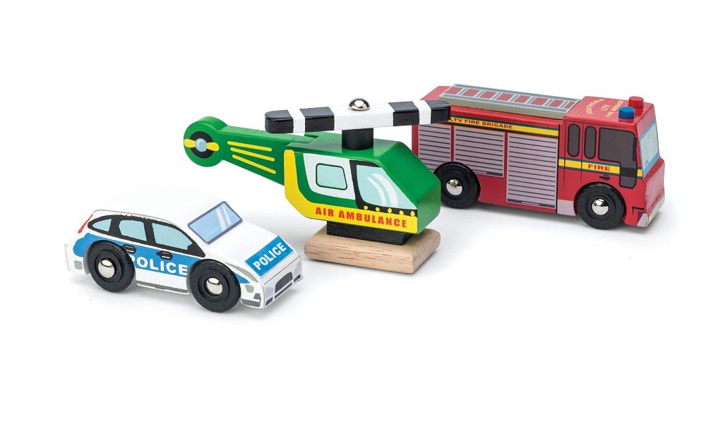 Le Toy Van Set autíček Záchranáři