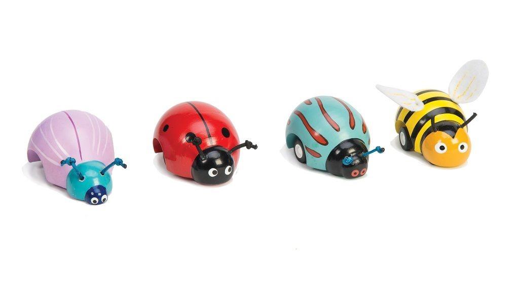 Le Toy Van natahovací brouček 1ks  fialová