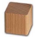 Kostkoviště - Dřevěná kostka 100 ks