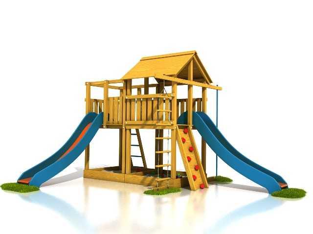 Dřevěné dětské hřiště - Stavebnice hřiště Tomáš