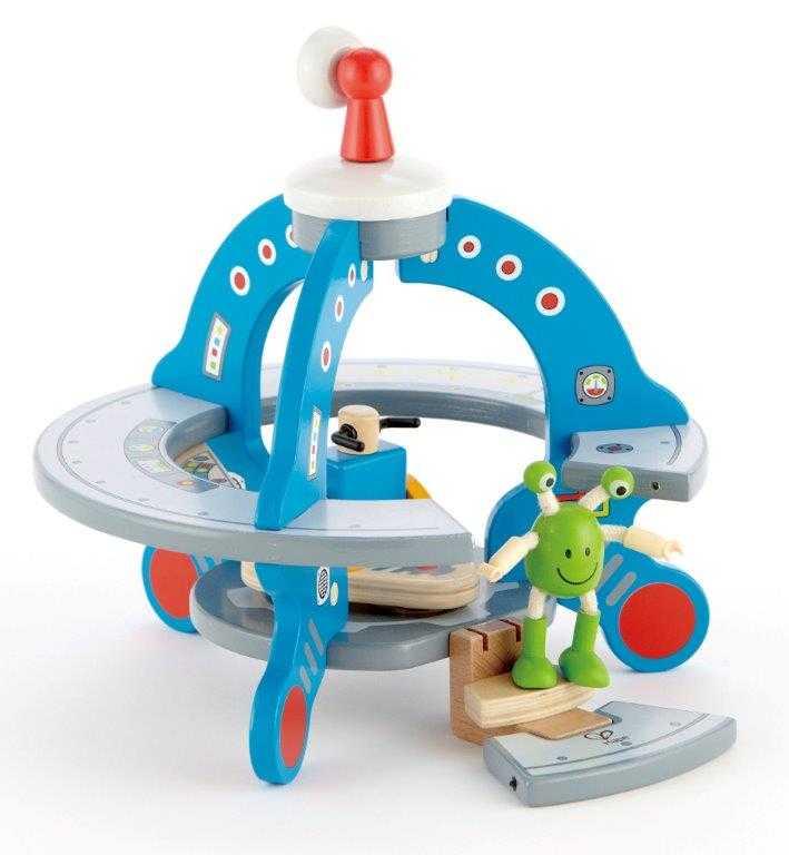 HAPE dřevěné hračky - UFO