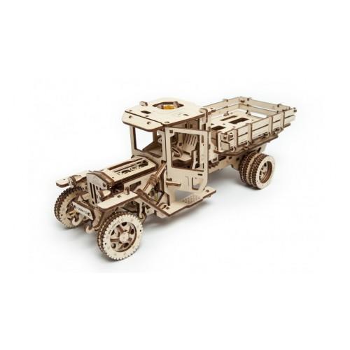 Ugears 3D dřevěné mechanické puzzle Truck UGM 11