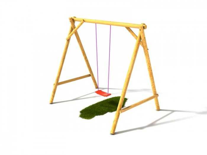 Dřevěné dětské hřiště - Stavebnice dětská houpačka Vítek