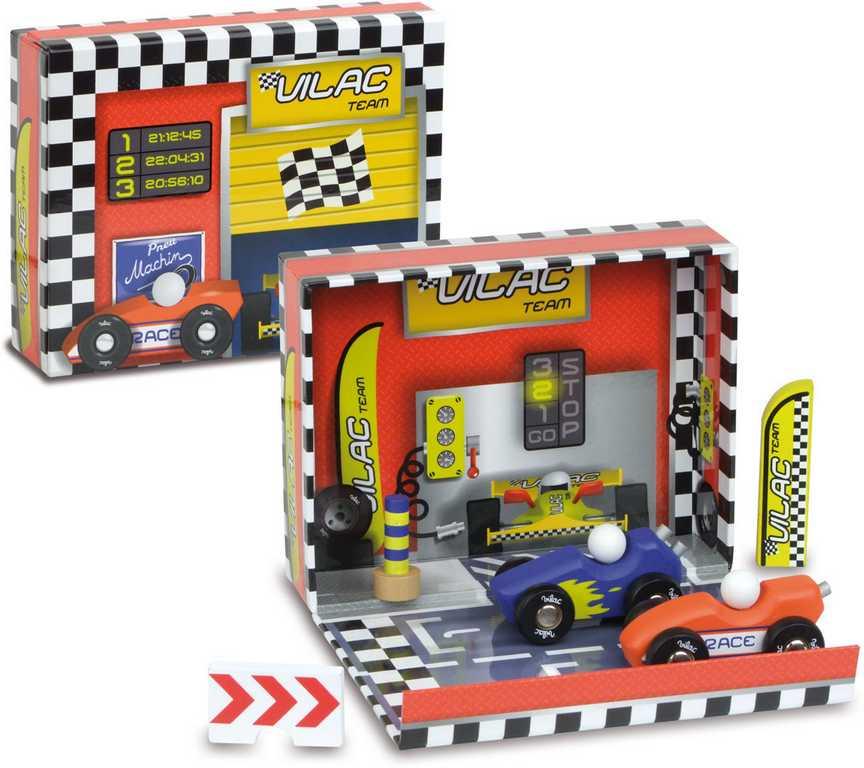 Vilac Zábavná hračka Box s auty  Závodní dráha