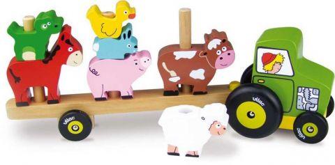 Vilac Nasazovačka traktor se zvířátky