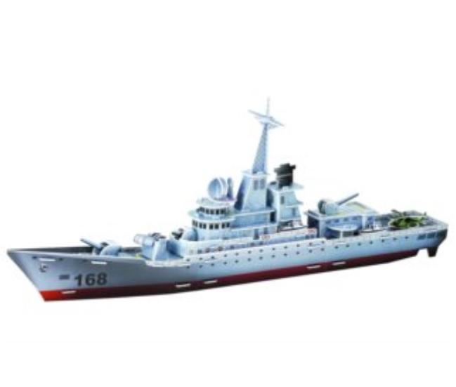 Třívrstvé pěnové 3D puzzle  - Fregata Křižník