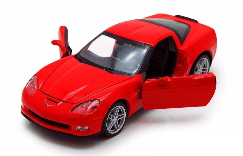 Welly - 2007 Chevrolet Corvette Z06 1:24 červená