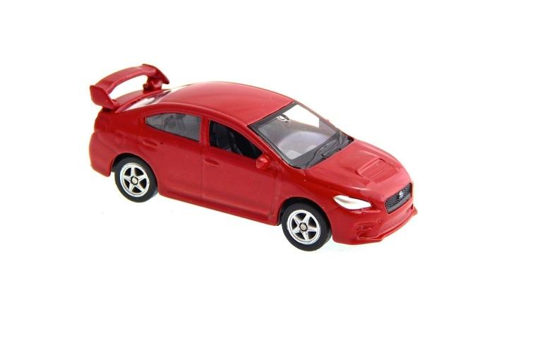 Welly - Subaru Impreza WRX model 1:34 červený