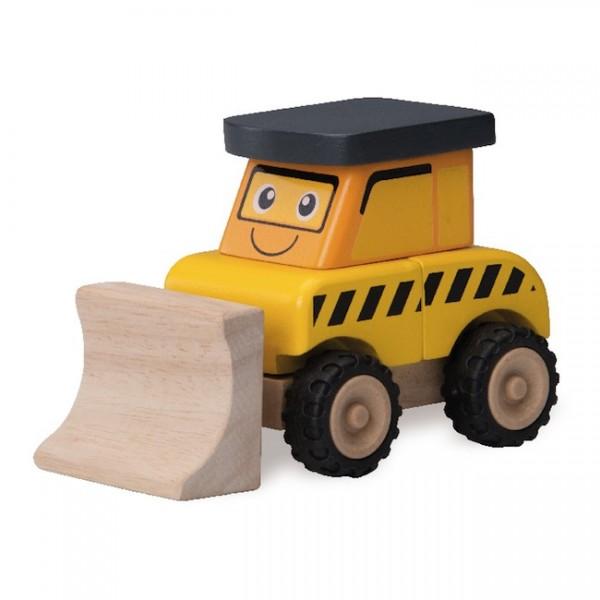 Wonderworld Dřevěný mini bagr