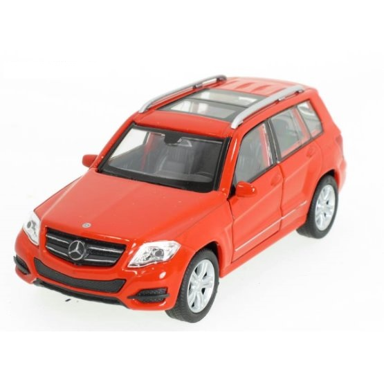 Welly - Mercedes-Benz GLK model 1:34 červený