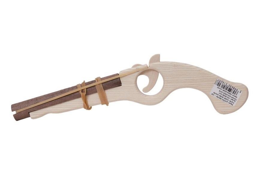Dřevěná flinta přírodní