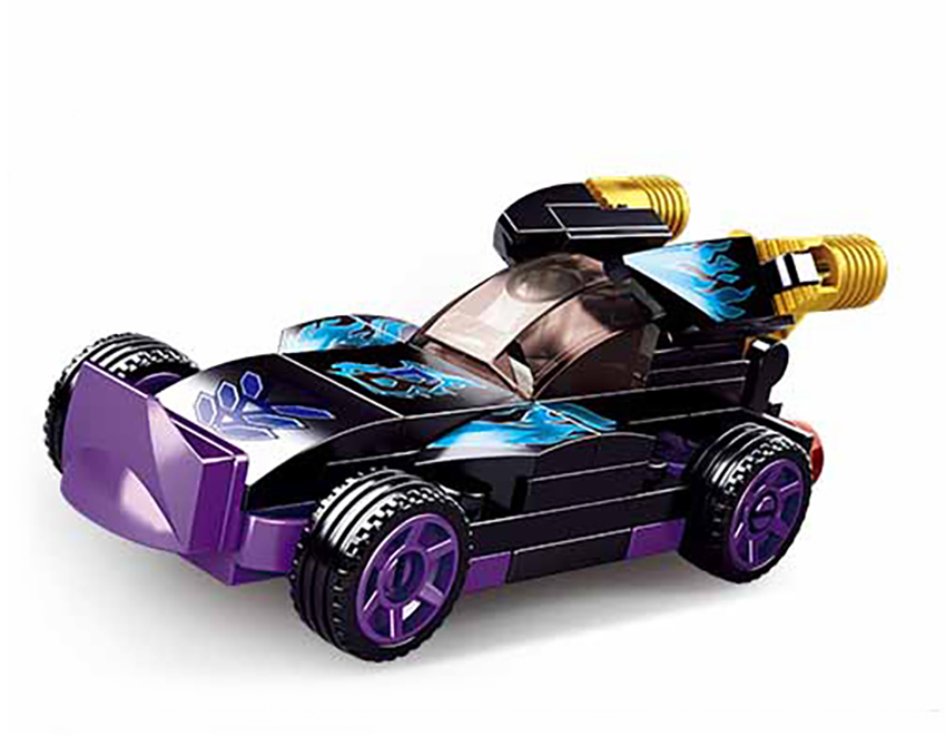Sluban Power M38-B0801B Natahovací auto Fialový Raptor