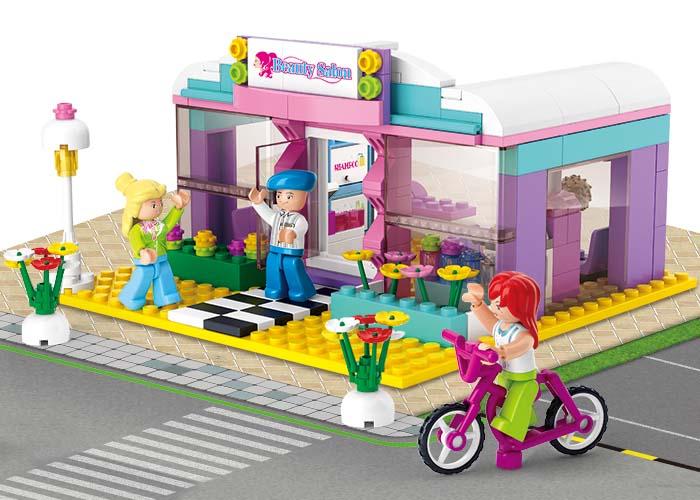 Sluban Girls Dream Town M38-B0526 Salón krásy