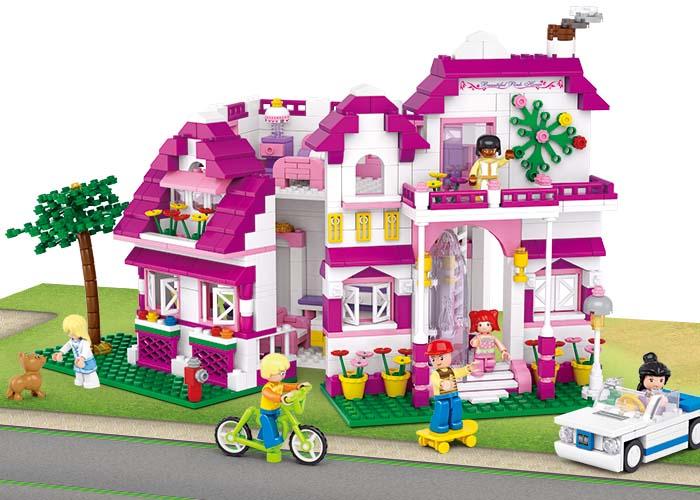 Sluban Girls Dream Town M38-B0536 Luxusní vila