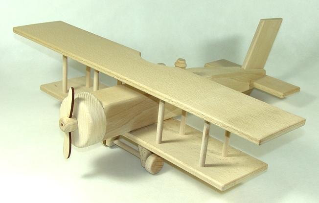 Ceeda Cavity - Dřevěné letadlo dvouplošník obrovský