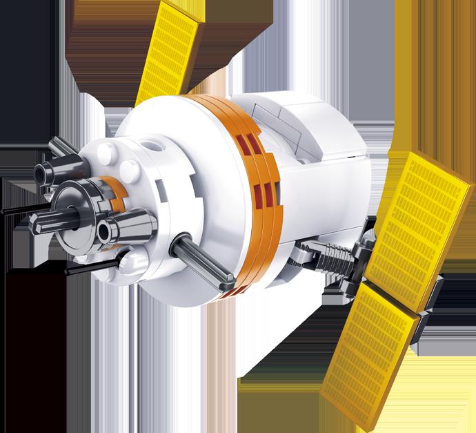 Sluban Space M38-B0731F Satellit F