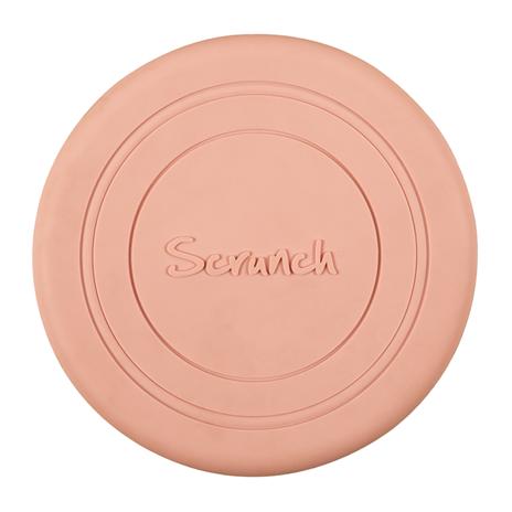 Scrunch Frisbee světle růžové