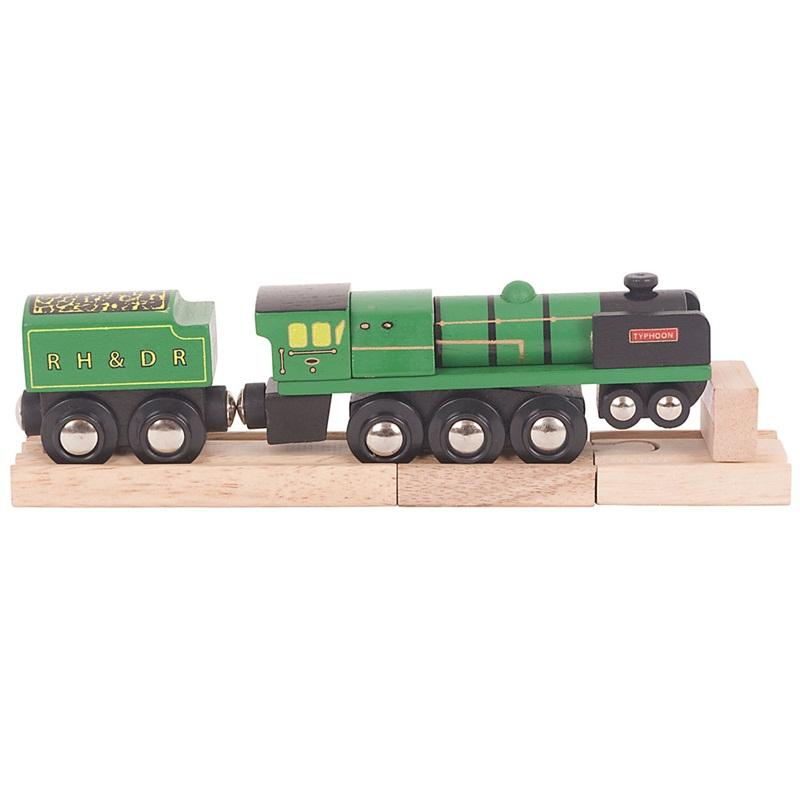 Bigjigs Rail Dřevěná replika lokomotivy RH&DR Typhoon