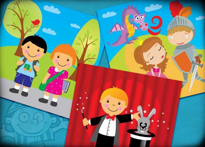 Obrázkové dětské hry - V kostce! Moje první obrázky