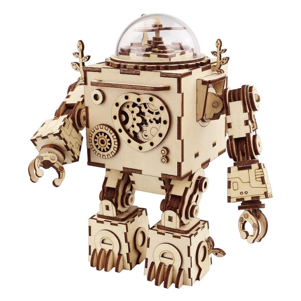 RoboTime 3D skládačka hrací skříňky Robot Orfeus