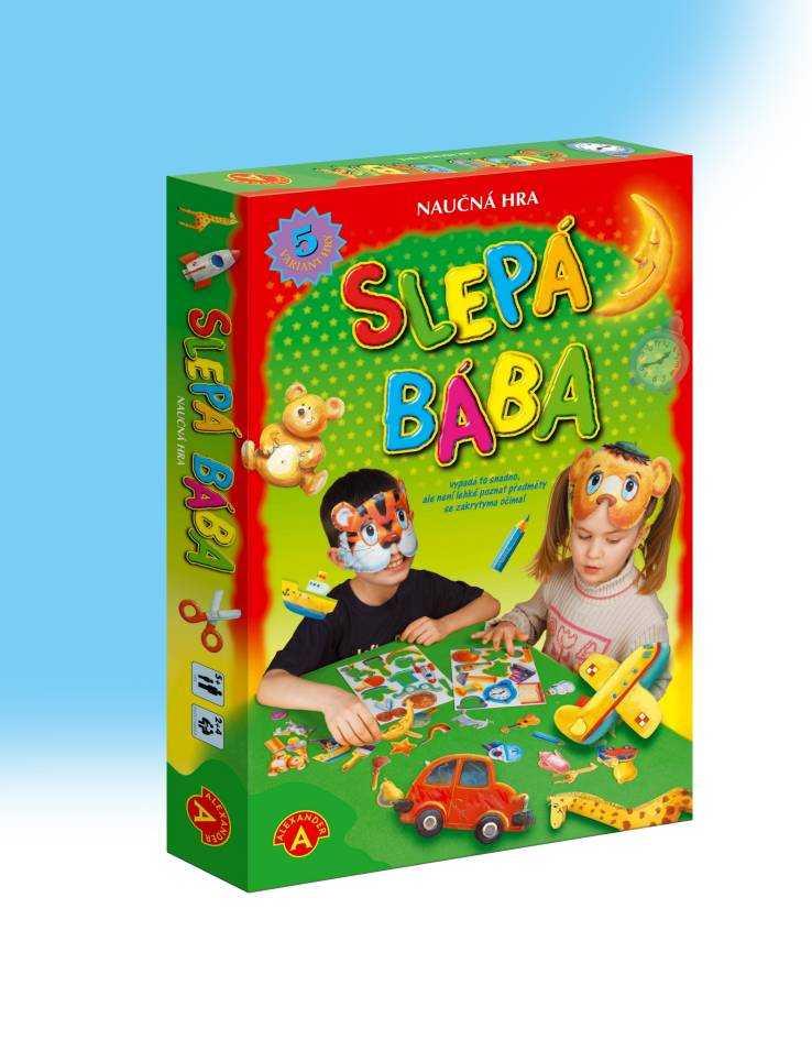 Dětské hry - Hra Slepá bába