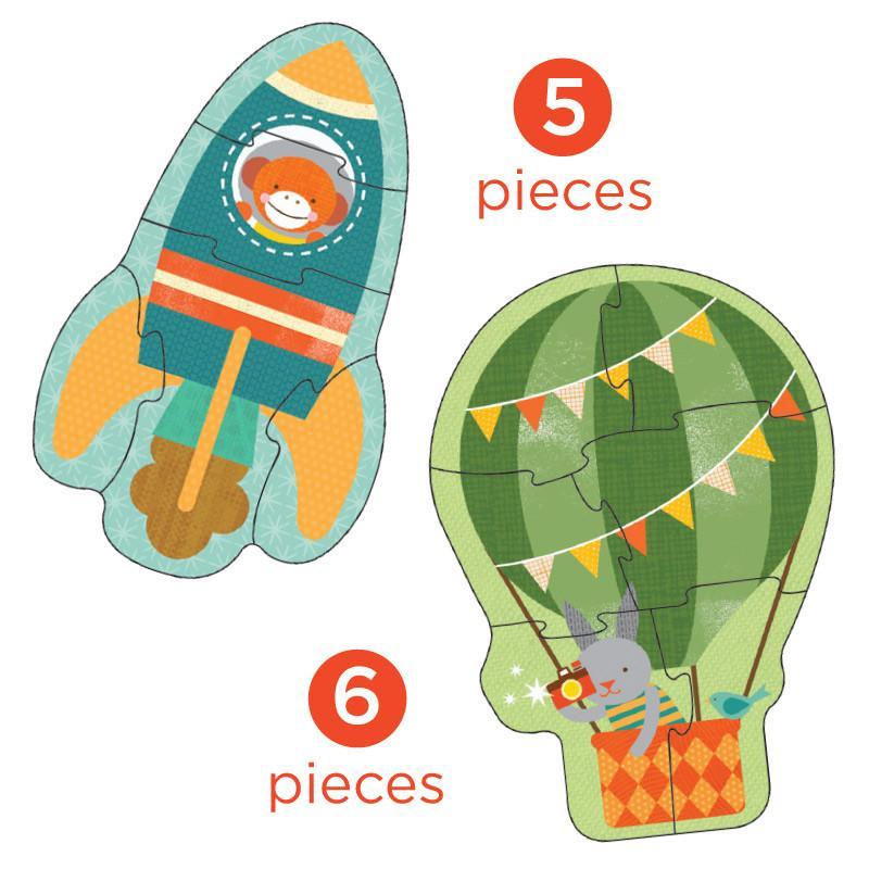 Petitcollage První puzzle letecké prostředky