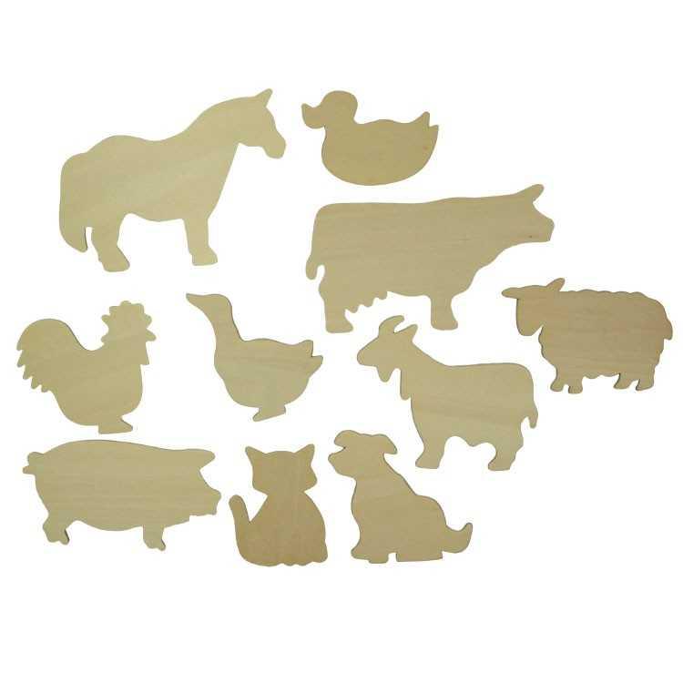 Bigjigs Toys Obkreslovací obrázky domácích zvířat