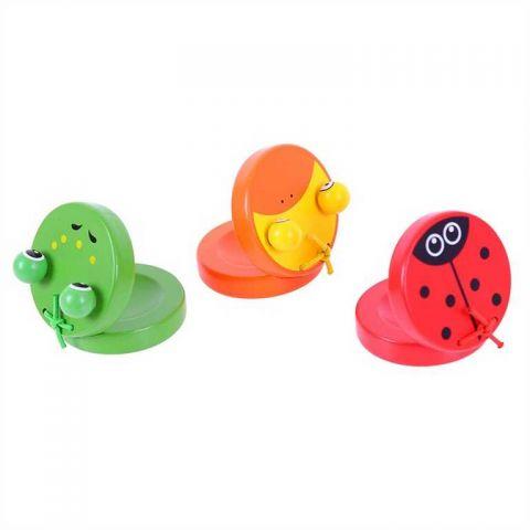Bigjigs Toys Dřevěné kaskaněty zvířátka 1 ks