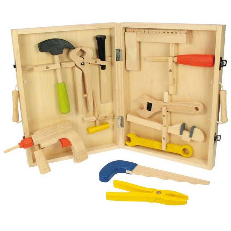 Bigjigs Toys Dřevěný Kufřík s nářadím