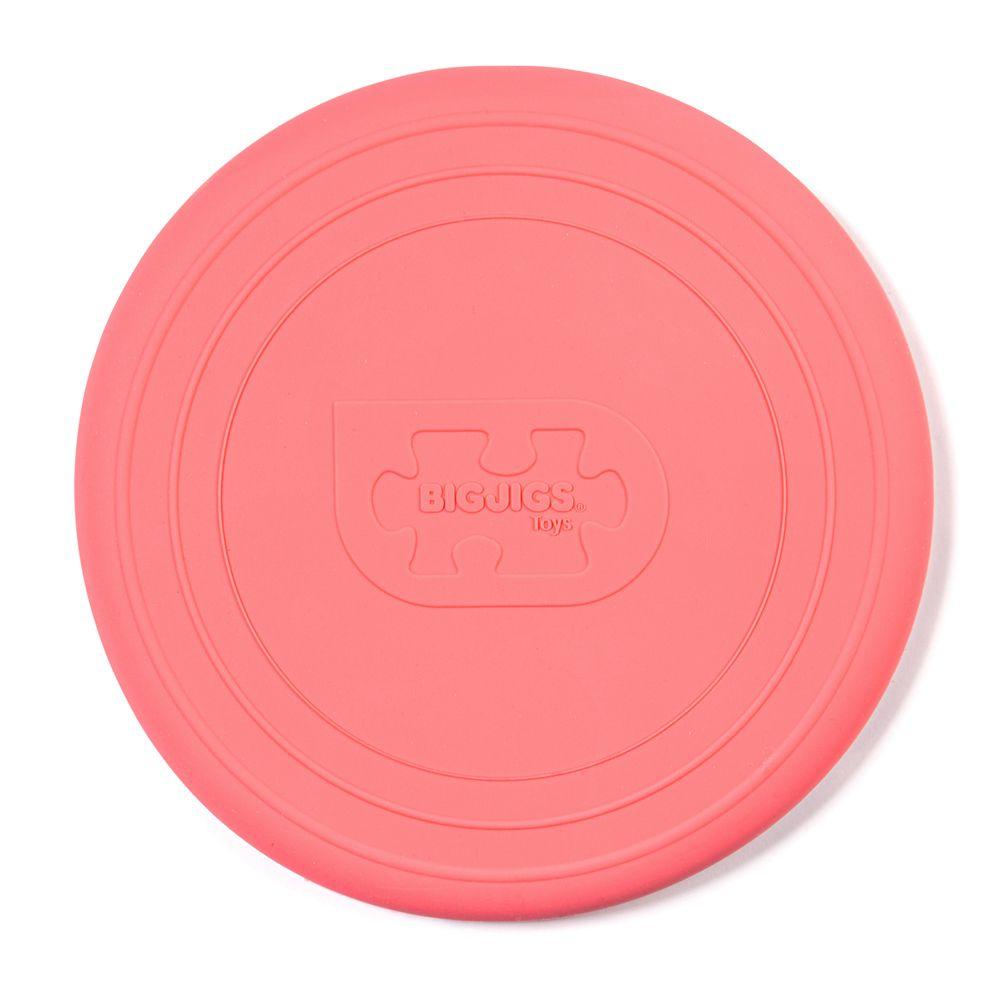 Bigjigs Toys Frisbee růžové Coral
