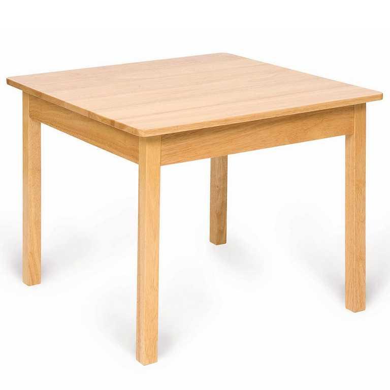 Bigjigs dětský dřevěný hrací stůl