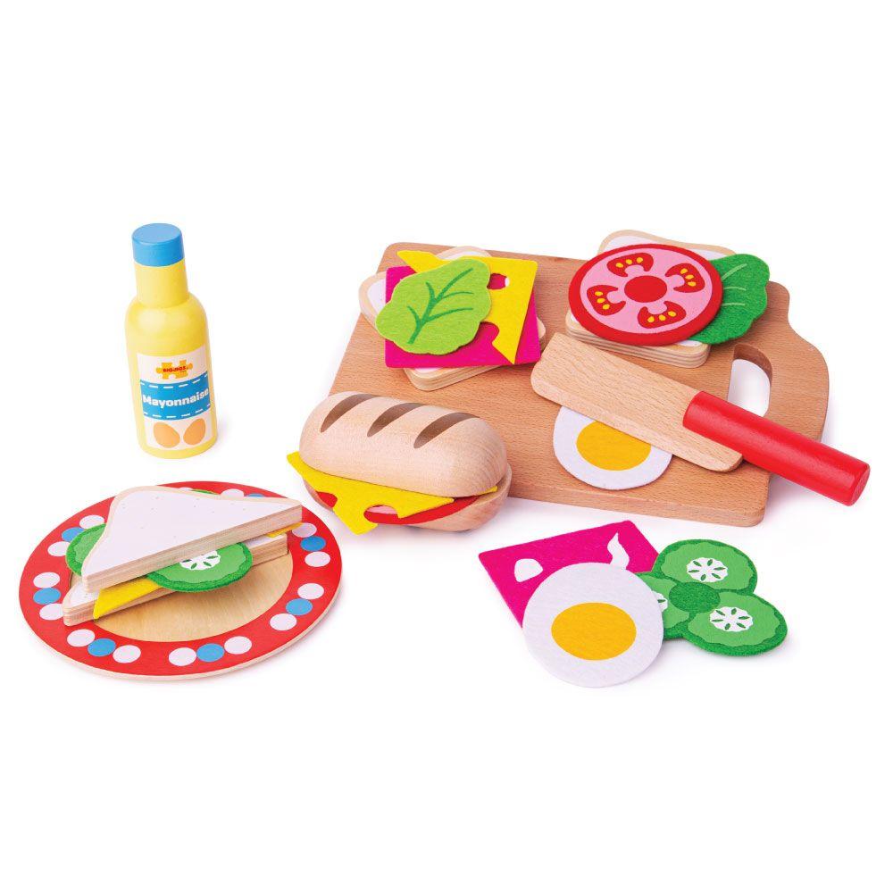 Bigjigs Toys Sendvičový set