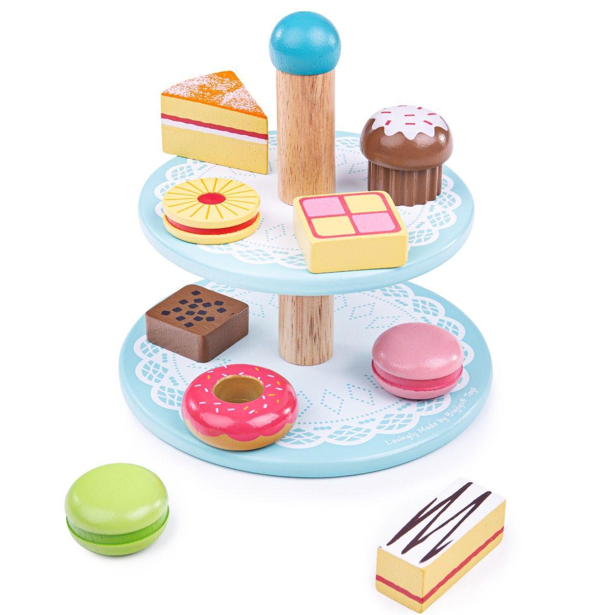 Bigjigs Toys Stojan s dortíky