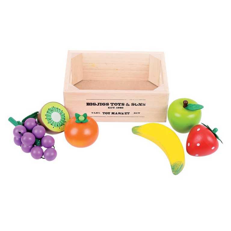 Bigjigs Toys Ovoce v přepravce