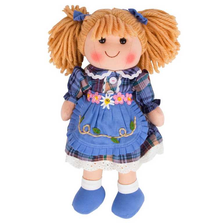 Bigjigs Toys Látková panenka Katie 34 cm