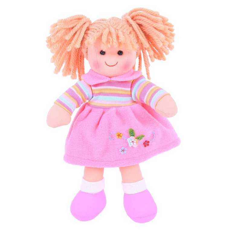 Bigjigs Toys Látková panenka Jenny 28 cm