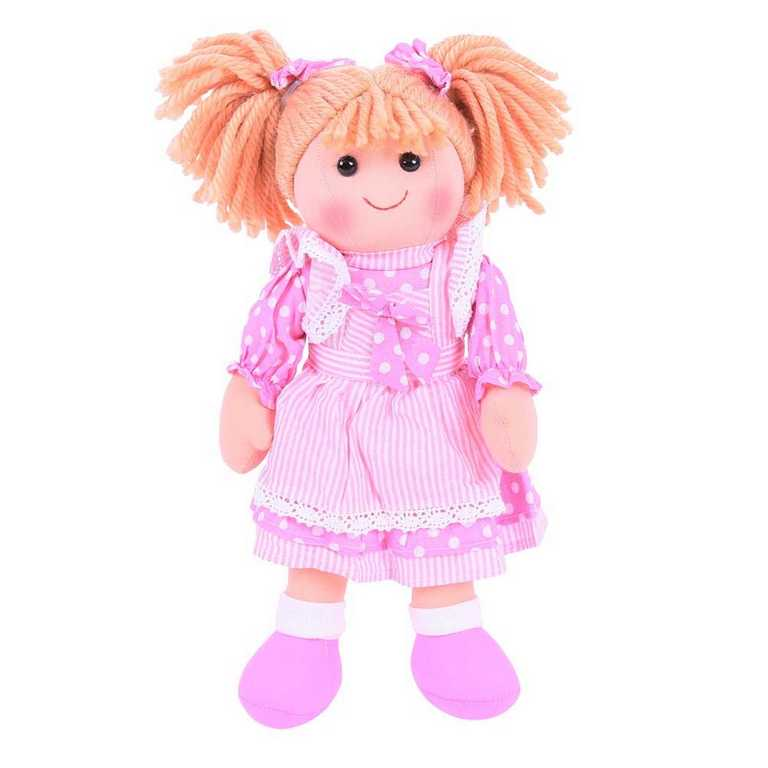 Bigjigs Toys Látková panenka Anna 34 cm